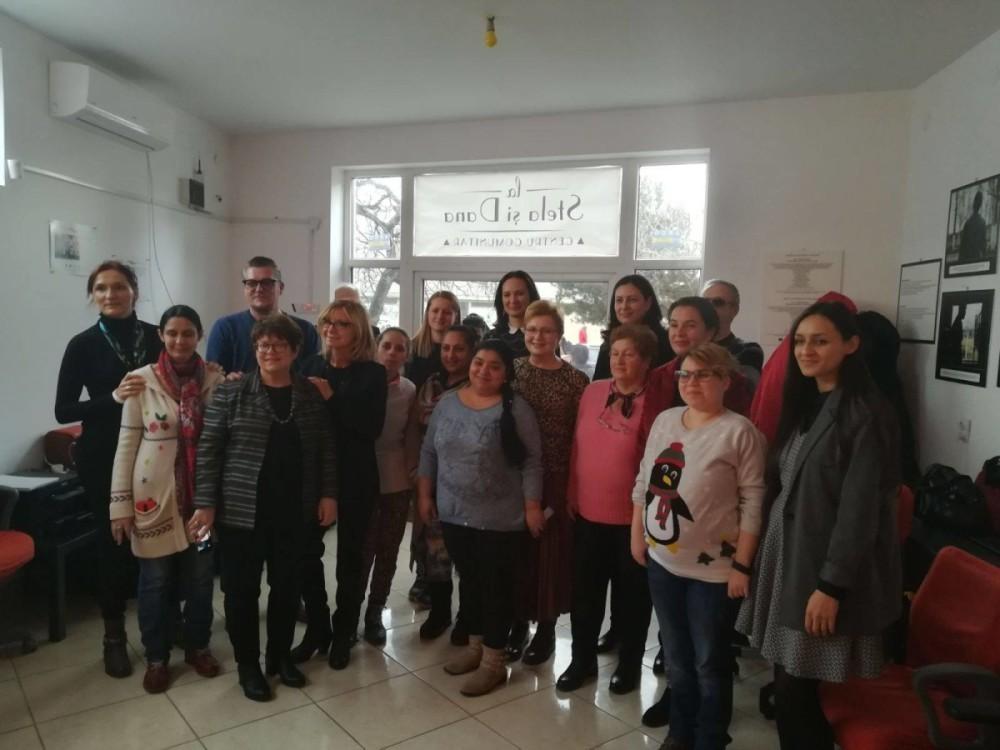 Participante la cursurile de alfabetizare digitala