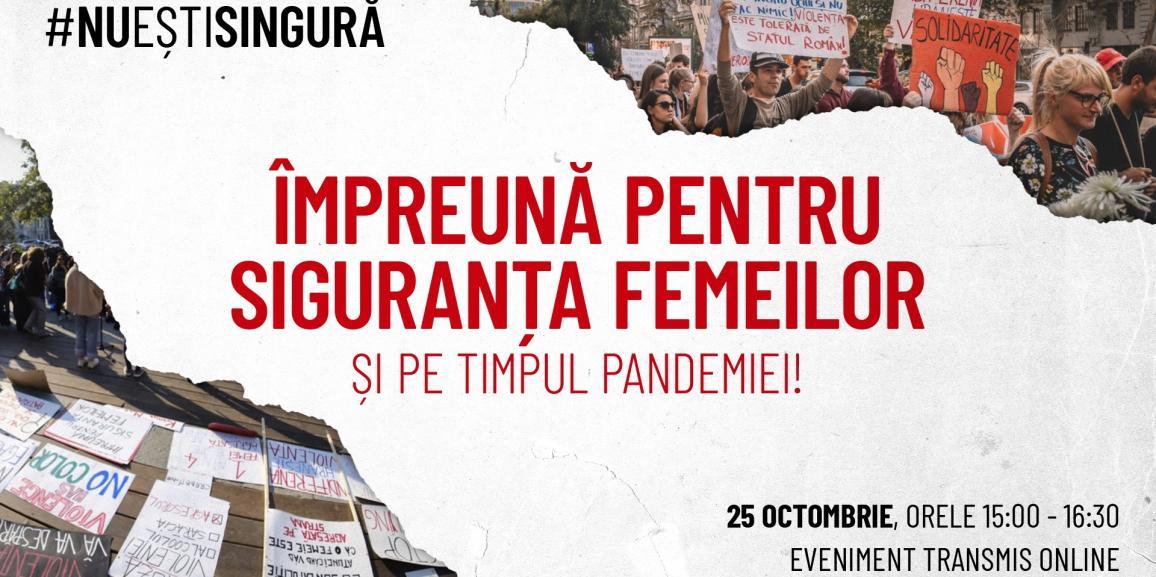 Impreuna pentru siguranta femeilor si pe timpul pandemiei!